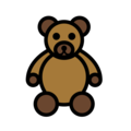 Teddy Bear on OpenMoji 12.3