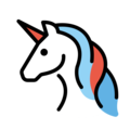 Unicorn on OpenMoji 12.3