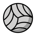 Volleyball on OpenMoji 12.3