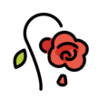 Wilted Flower on OpenMoji 12.3