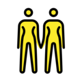 Women Holding Hands on OpenMoji 12.3