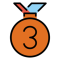3rd Place Medal on OpenMoji 13.0