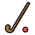 Field Hockey on OpenMoji 13.0