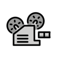 Film Projector on OpenMoji 13.0