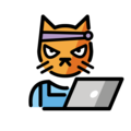 Hacker Cat on OpenMoji 13.0