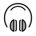 Headphone on OpenMoji 13.0