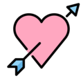 Heart with Arrow on OpenMoji 13.0