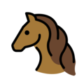 Horse Face on OpenMoji 13.0