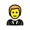 Man in Tuxedo on OpenMoji 13.0