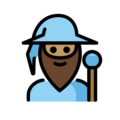 Man Mage: Medium Skin Tone on OpenMoji 13.0
