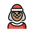 Mrs. Claus: Medium Skin Tone on OpenMoji 13.0