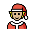Mx Claus: Medium-Light Skin Tone on OpenMoji 13.0