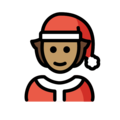 Mx Claus: Medium Skin Tone on OpenMoji 13.0