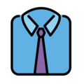 Necktie on OpenMoji 13.0