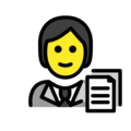 Office Worker on OpenMoji 13.0