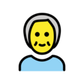 Older Person on OpenMoji 13.0