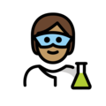 Scientist: Medium Skin Tone on OpenMoji 13.0