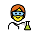 Scientist on OpenMoji 13.0