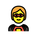 Superhero on OpenMoji 13.0