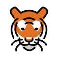 Tiger Face on OpenMoji 13.0
