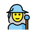 Woman Mage on OpenMoji 13.0