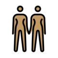 Women Holding Hands: Medium Skin Tone on OpenMoji 13.0