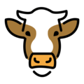 Cow Face on OpenMoji 13.1