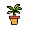 Potted Plant on OpenMoji 13.1