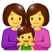 Family: Woman, Woman, Boy on Samsung Experience 9.5