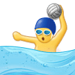 Man Playing Water Polo on Samsung Experience 9.5