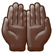 Palms Up Together: Dark Skin Tone on Samsung Experience 9.5