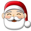 Santa Claus: Light Skin Tone on Samsung One UI 1.0
