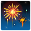 Fireworks on Samsung One UI 1.0