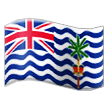 Flag: British Indian Ocean Territory on Samsung One UI 1.0