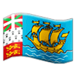 Flag: St. Pierre & Miquelon on Samsung One UI 1.0