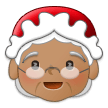 Mrs. Claus: Medium Skin Tone on Samsung One UI 1.0