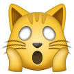 Weary Cat Face on Samsung One UI 1.0