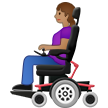 Woman in Motorized Wheelchair: Medium Skin Tone on Samsung One UI 1.5
