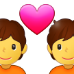 Couple with Heart on Samsung One UI 2.5