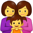 Family: Woman, Woman, Girl on Samsung One UI 2.5