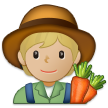 Farmer: Medium-Light Skin Tone on Samsung One UI 2.5