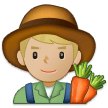Man Farmer: Medium-Light Skin Tone on Samsung One UI 2.5