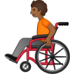Person in Manual Wheelchair: Medium-Dark Skin Tone on Samsung One UI 2.5