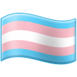 Transgender Flag on Samsung One UI 2.5