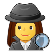 Woman Detective on Samsung One UI 2.5
