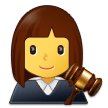 Woman Judge on Samsung One UI 2.5