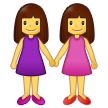 Women Holding Hands on Samsung One UI 2.5