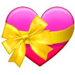 Heart with Ribbon on Samsung One UI 3.1.1