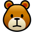 Bear Face on SoftBank 2014