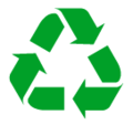 Recycling Symbol on SoftBank 2014